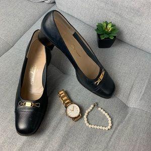 Ferragamo Vintage Shoes Low Heel